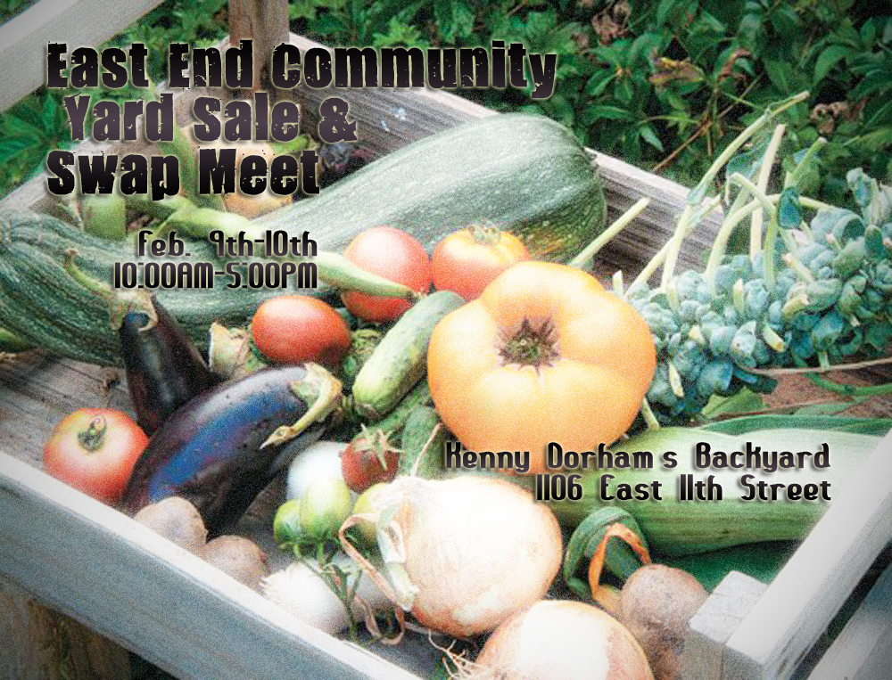 East End Community Yard Sale & Meet