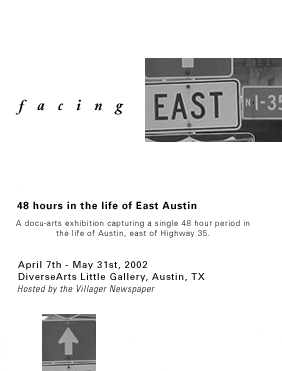 Facing East 2002 Poster