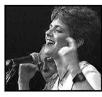 Tina Marsh at the 1995 Women in Jazz Concert
