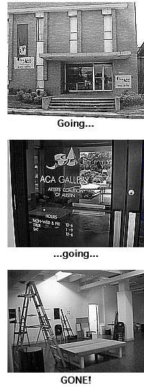 THe old ACA on Guadalupe is now gone to a new location on Tillery ST.